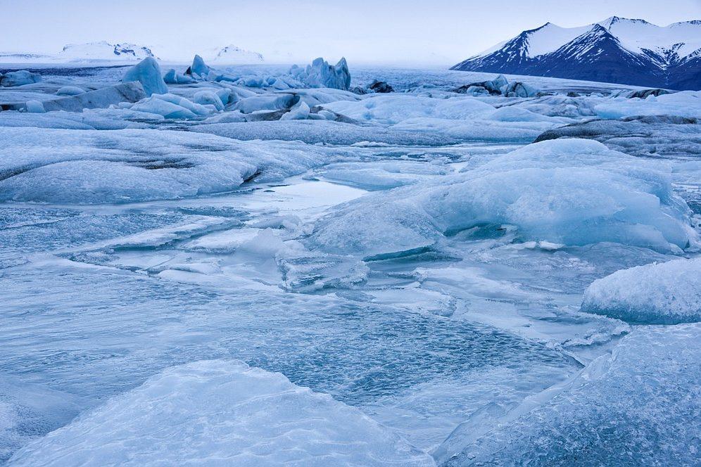 Eislandschaft, Jökulsarlon, Island
