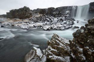 Öxarárfoss, Þingvellir, Island