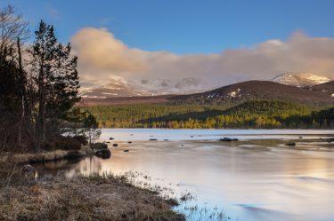 Loch Morlich, Cairngorms Nationalpark, Schottland