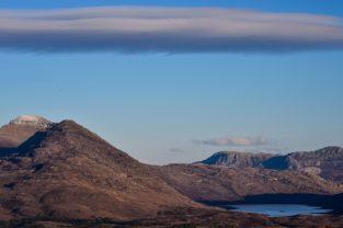 Bergsee in den Highlands, Wester Ross, Schottland