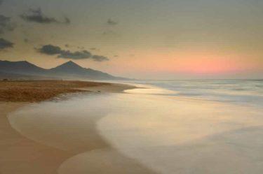 Strand Playa Cofete, Barlovento, Jandia-Halbinsel, Fuerteventura, Kanaren, Spanien