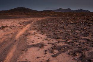 Lavawüste Malpais Grande, Fuerteventura, Kanaren, Spanien