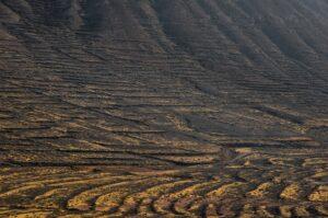 Terassen in den Bergen bei Vallebron, Fuerteventura, Kanaren