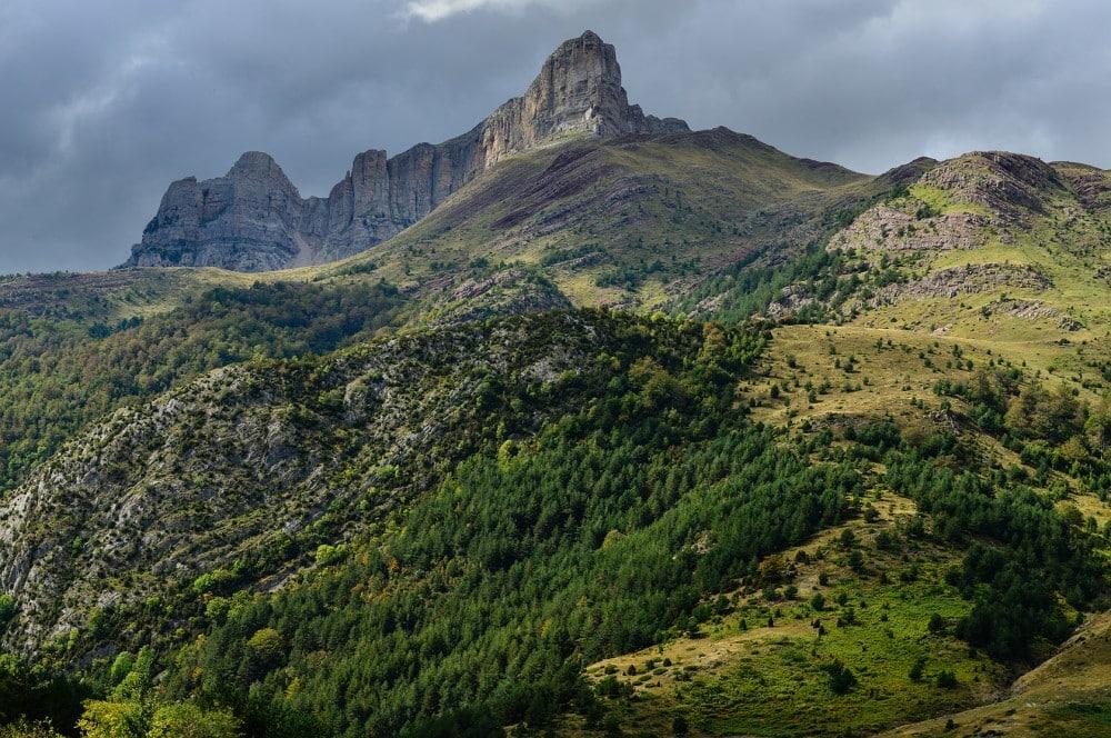 Valle de Hecho, Parque Natural Valles Occidentales, Pyrenäen, Spanien