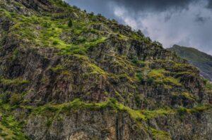 Valle de Hecho, Pyrenäen, Aragonien, Spanien