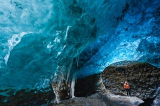 Eishöhle, Skaftafell, Island
