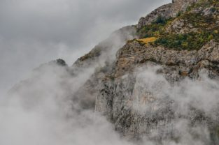 Valle De Hecho, Pyrenäen, Spanien