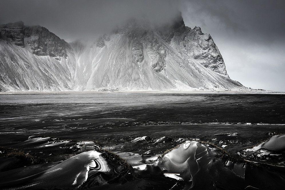 Vestrahorn, Bergmassiv Klifatindur, Island