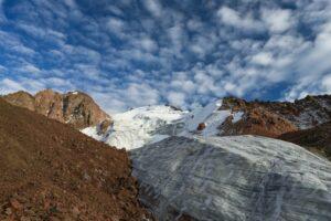Manschuk-Gletscher (3.700 m), Kasachstan