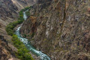 Oberlauf des Sharyn River, Kasachstan