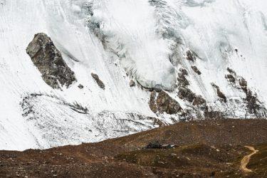 Gletscherforschungsstation am Tujuksu-Gletscher, Kasachstan