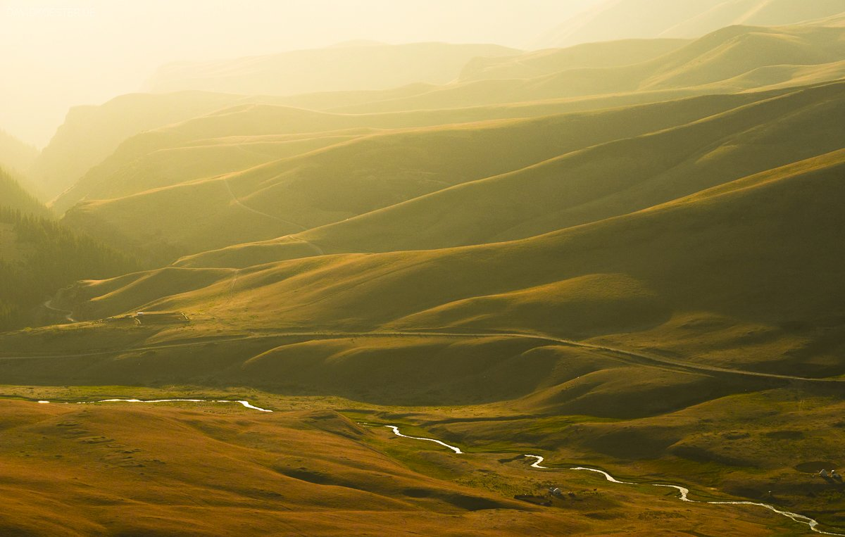 Kasachstan - Steppe auf Assy Plateau