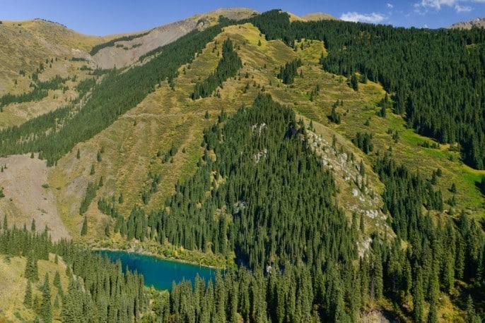 Kaindy-Kajindy-See-Lake-Kasachstan-Kazakhstan-06