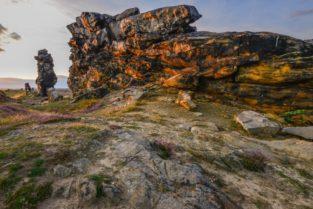 Teufelsmauer bei Thale, Harz
