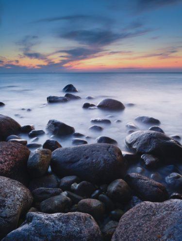 Ostseestrand bei Binz, Insel Rügen, Mecklenburg Vorpommern