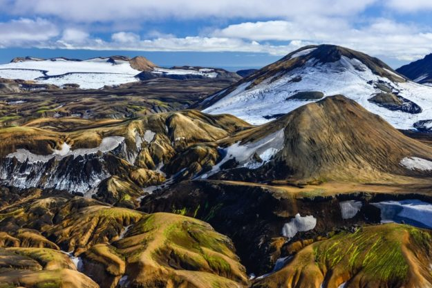 Winter in Landmannalaugar, Island