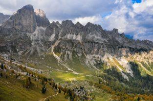 Herbst in Südtirol, Italien