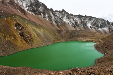 Manschuk-Gletschersee, Kasachstan