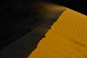 Sandsturm, Kasachstan