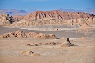 Valle de la Luna, Atacama-Wüste, Chile