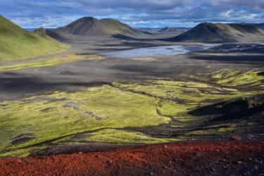 Vulkanlanschaft, Fjallabak, Hochland, Island