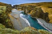 Fjaðrárgljúfur Canyon, Island