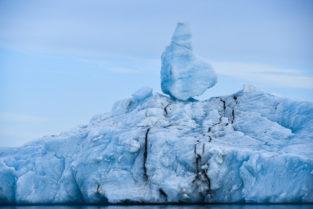 Eisberge im Meer, Island