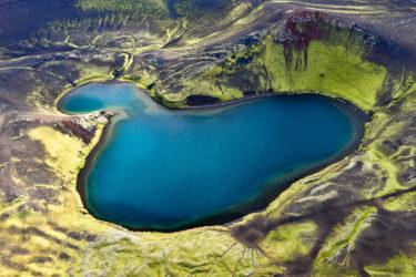 Kratersee im Veidivötn