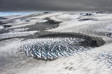 Gletscherwüste des Mýrdalsjökull, Island