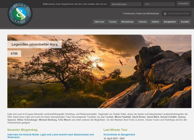 Fototouren Foto-Workshops Harz