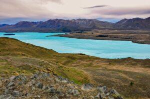 Lake Tekapo, Mackenzie-Distrikt, Canterbury, Neuseeland