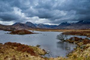 Lochan na h- Achlaise, Highlands, Schottland