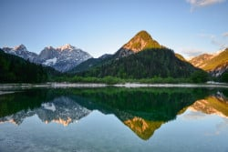 Bergsee, Julische Alpen, Slowenien
