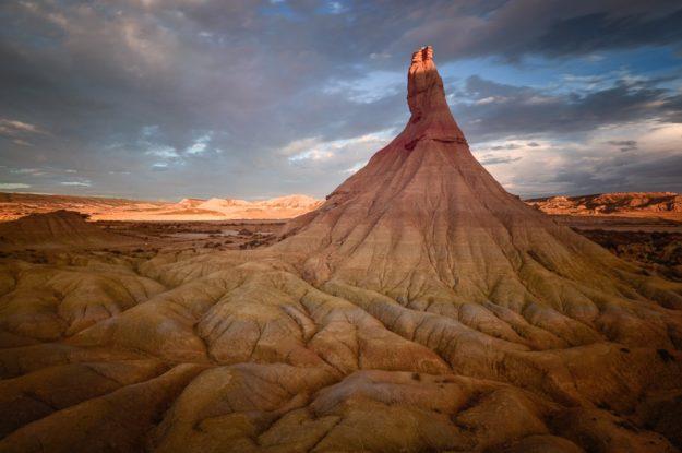Wüstenlandschaft Bardenas Reales, Spanien