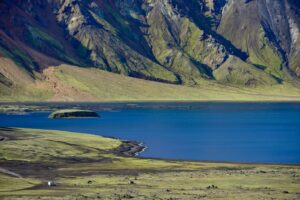 Mit dem Wohnwagen durchs Hochland, Island
