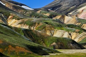 Farbige Berge, Landmannalaugar, Island
