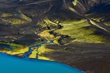 Seenlandschaft Veidivötn, Island