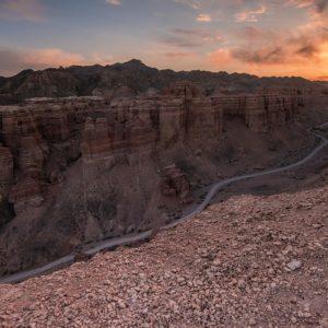 Wüstenlandschaft Scharyn Canyon, Kasachstan