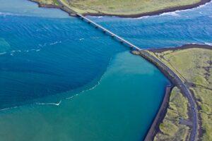 Flußbrücke in Südisland, Island