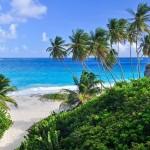 Palmenstrand der Bottom Bay, Barbados, Karibik