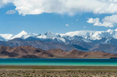 Gebirgsee Karaköl, Pamir, Tadschikistan (Tajikistan)
