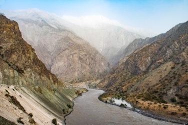 Pjandsch-Tal, Pamir, Tadschikistan und Afghanistan