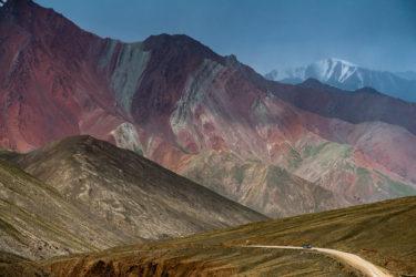 Tadschikistan Kirgistan Landschaft Natur Pamirhighway