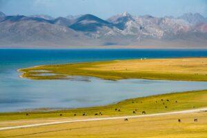 Song Köl (Son Kul), Pamir, Kirgistan, Kirgisien
