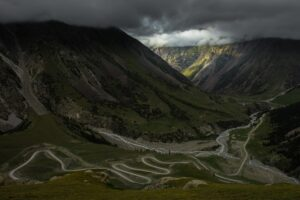 Barskoon-Pass, Tien Shan, Kirgistan (Kirgisien)