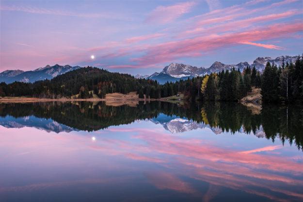 Deutschland - Geroldsee (Wagenbrüchsee), Karwendel