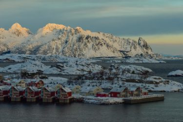 Svolvaer, Trollfjord, Lofoten, Norwegen
