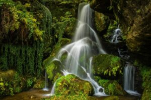 Deutschland - Lichtenhainer Wasserfall, Kirnitzschtal