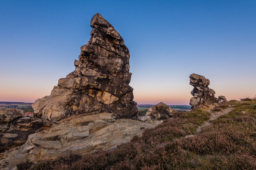 Deutschland - Teufelsmauer bei Thale, Harz