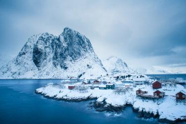 Lofoten 003 | Hamnoya, Moskenesøya, Lofoten | Norwegen, Winter, Landschaftsfotografie, Bilder, Fotos, Landschaften